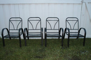 Four Patio/Deck Chairs