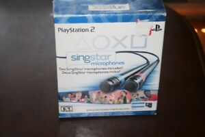 microphone singstar ps2-ps3