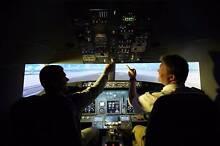Boeing 737 Flight Simulator Business. Broadbeach Gold Coast City Preview