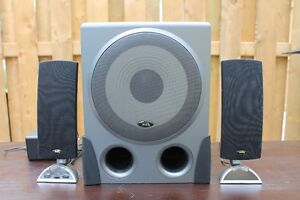 Cyber Acoustics Speakers-MOVING SALE