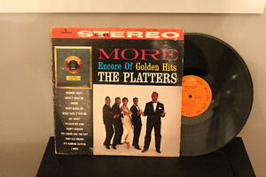 THE PLATTERS, ENCORE OF GOLDEN HITS LP 33.NEW RECORDS.