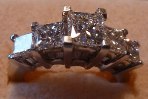 Engagement Ring...High Quality Diamond & Platinum Ring