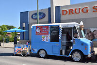 Ice cream food truck for all events