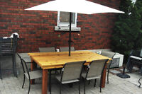 Custom Cedar Patio Furniture