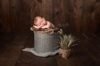Newborn Photography ~ Artistically Inspired by Nature