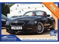 2008 M BMW Z4 2.0 Z4 I SPORT ROADSTER 2D 150 BHP