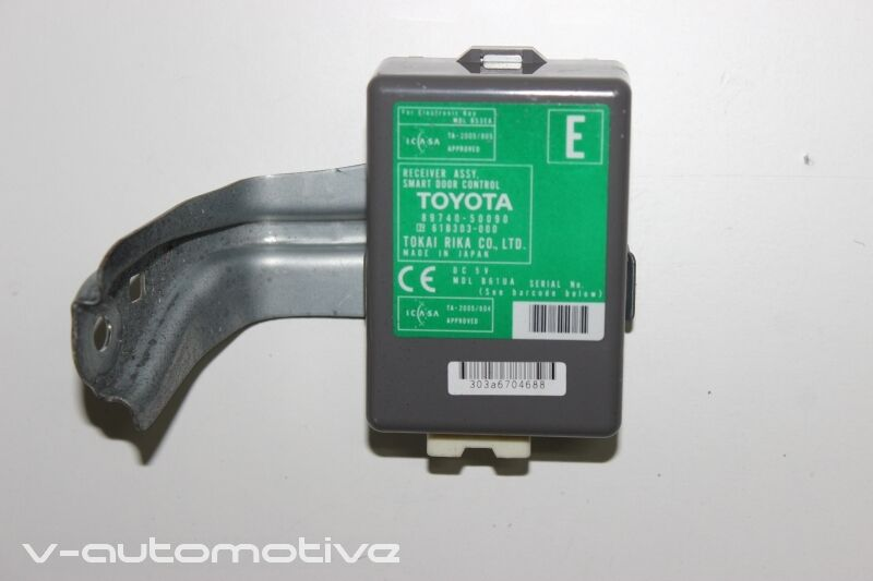 2007 LEXUS LS 600H 460 / SMART DOOR CONTROL RECEIVER MODULE 89740-50090