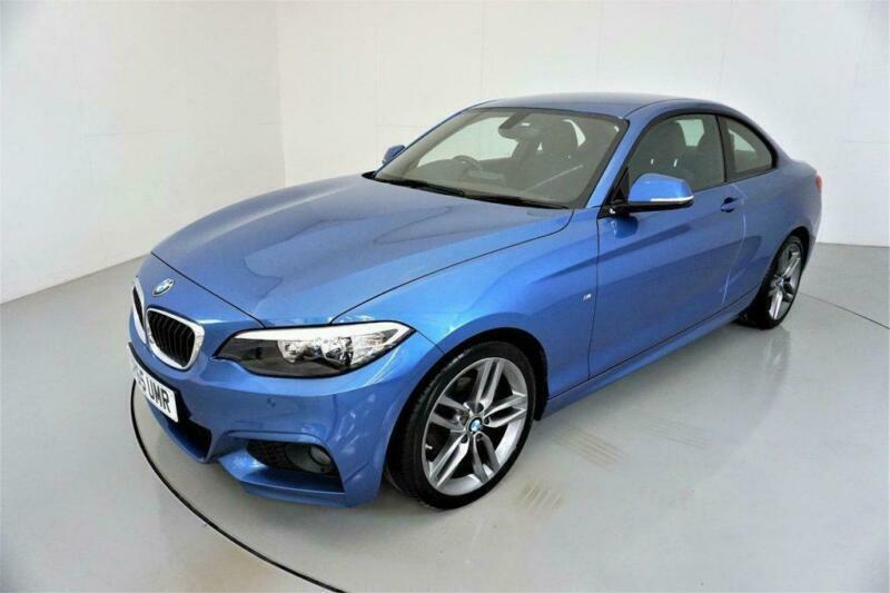 2015 BMW 2 Series 2.0 218D M SPORT 2d 148 BHP-2 OWNER CAR-30 ROAD TAX-BLUETOOTH-