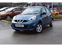 2015 NISSAN MICRA Nissan Micra 1.2 Visia 5dr [Rear PDC]
