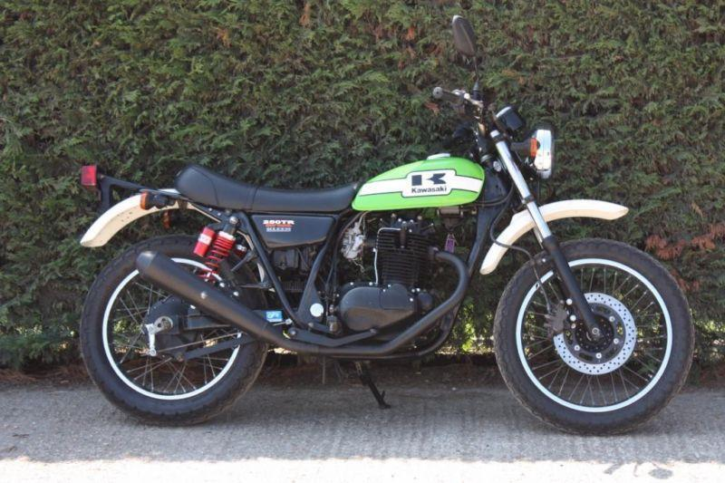 2002 KAWASAKI 250 TR GREEN FRESH FROM JAPAN! ONLY £3495! LOW MILAGE