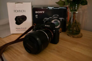 Sony A7II with Rokinon 35mm f/1.4 lens