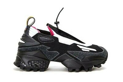 Pyer Moss Reebok 4.5 M 6 W Shoes Experiment 4 Trail Fury Innocence Project Black