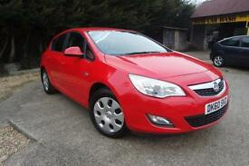 VAUXHALL ASTRA 1.4 EXCLUSIV, Red, Manual, Petrol, 2010