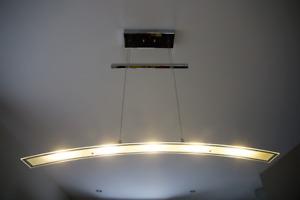Luminaire arqué à 5 DEL pour salle à dîner/billard