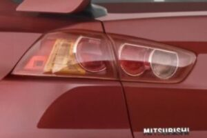 2008-2014 lancer taillights with wiring and bulbs