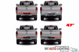 Waterproof 47 Inch Red/White Tailgate LED Strip Lights