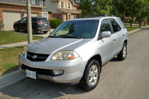 2002 Acura MDX SUV (As Is) - Transmission recently rebuilt