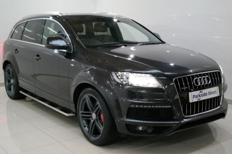 2012 12 audi q7 3 0 tdi quattro s line plus 5d auto 245. Black Bedroom Furniture Sets. Home Design Ideas