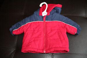 Manteau d'hiver pour bébé garçon 0-3 mois
