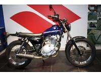 SUZUKI TU 250 BIG BOY GRASS TRACKER, BLUE, RARE JDM MOTORCYCLE