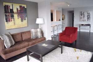Furnished & Renovated Two Bedroom Apartment in Yaletown