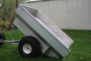 Aluminum ATV Dump Trailer Kitchener / Waterloo Kitchener Area image 3