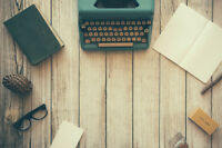 Professional Writing & Editing Services