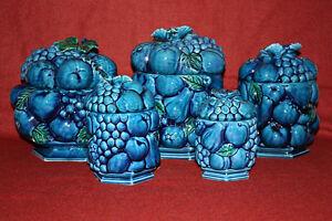 céramique bleue indigo inarco japan
