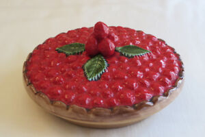HAND CRAFTED PIE SERVER & COVER