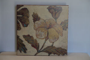 Art in Motion by Hope Smith- set of 4 Gilded Tapestry