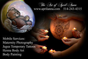 Maternity Body Art & Photoshoot