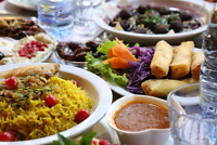 Middle East food/lebanese/syrian