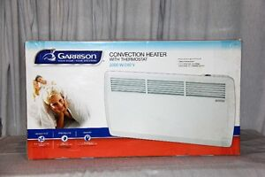 NEW! Garrison CONVECTION HEATER w/ Thermostat, Wall Mount, 2000W