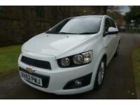 2012 Chevrolet Aveo 1.4 LTZ 5d 100 BHP Hatchback Petrol Manual