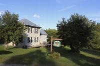 Renovated Century Home + 10 acres
