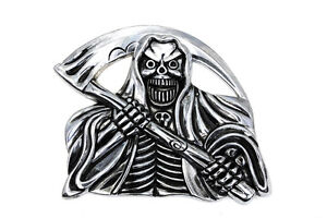 pewter adhesive skull emblems.. lots of styles