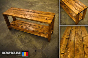 Rustic Coffee Table/TV Stand! Made To Order