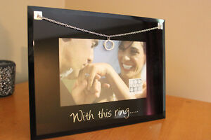 """Two Brand New Sixtrees 4""""x6"""" Photo Frames with charms London Ontario image 5"""