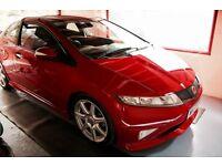 2008 (58) Red Honda Civic Type R GT FN2 60583 Miles * 12M Warranty *