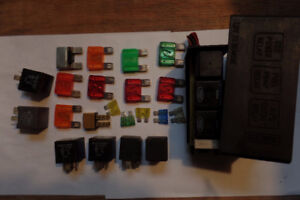 ALL Fuses and Relays from engine compartment Ford