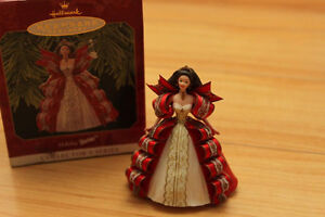 Keepsake Hallmark Ornament Holiday Barbie Collector's Series