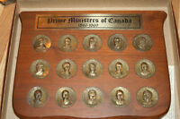 Coins of Prime ministers. 1867 to 1969