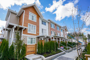 Brand New 4 Bedroom Townhouse with Roof deck in Morgan Creek!