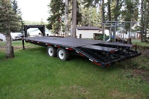 Fifth wheel beaver tail trailer for sale