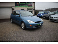 Ford Focus 1.6 16V 3 DOOR HATCHBACK AUTOMATIC +BEAUTIFUL LOW MILEAGE EXAMPLE+