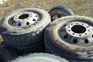 ALCOA USED ALUMINIUM BUD WHEELS
