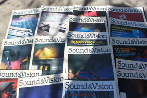 16 Sound & Vision Back Issue Magazines $5 for all