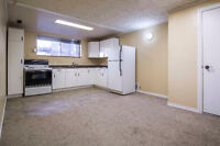 **AVAILABLE NOW** Bright and Spacious Basement Suite - PETS OK!