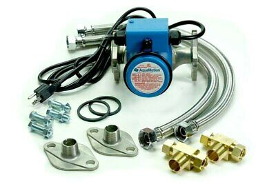AquaMotion One AMH3K-RN Hot Water Recirculation Kit - No Timer on Pump