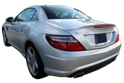 Tuningspoiler geeignet für Mercedes SLK R172, Lackiert in Obsidianschwarz 197